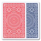 Modiano Club Poker Red/Blue Jumbo 2 Deck Set