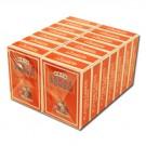 Modiano Texas Poker Jumbo 12 Decks - Orange - BULK