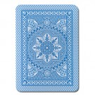 Modiano Cristallo Poker Size, 4 PIP Jumbo Light Blue